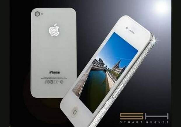 Бриллиантовый iPhone 4