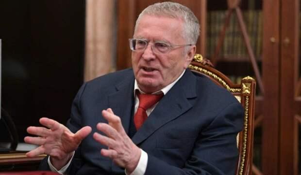 Жириновский предложить сделать ограничение по весу для россиян