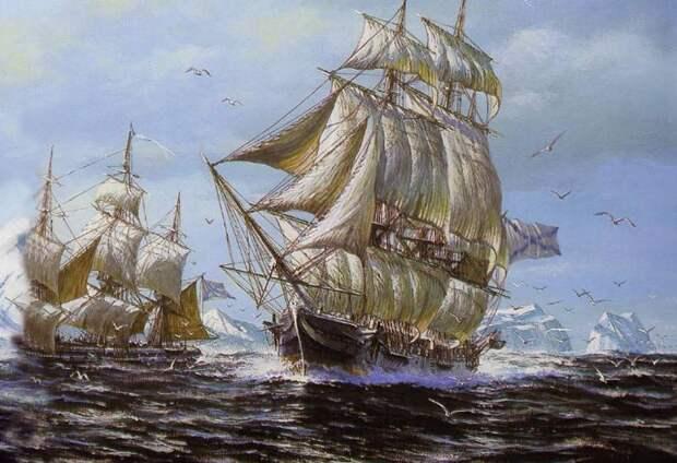 Первая русская антарктическая экспедиция. Часть 2