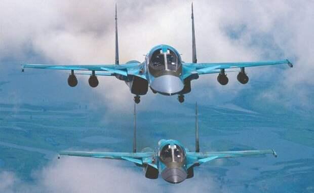 Это вам опять загенерала: ВКС России уничтожили вСирии десятки боевиков