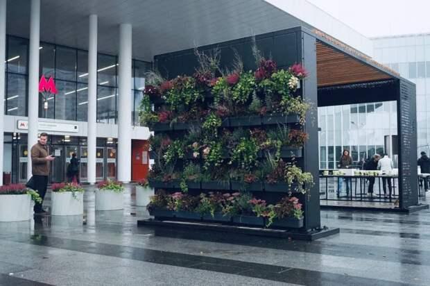 На «Нижегородской» установили инсталляцию в честь «зеленых» облигаций