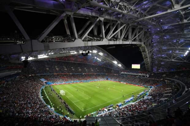 Красивейший матч португальцев и испанцев в Сочи!