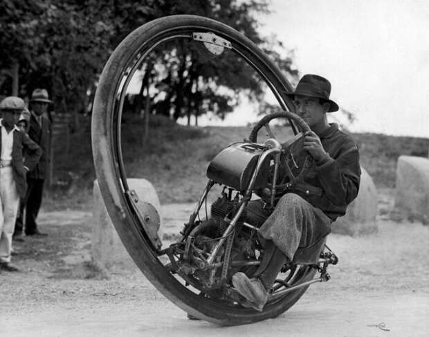 Одноколесный мотоцикл, 1925