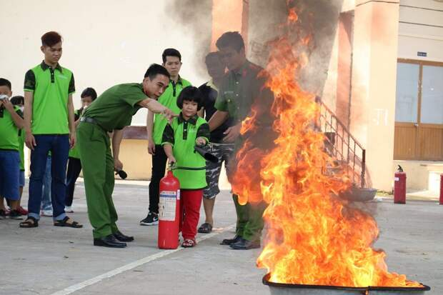 что делать при пожаре в торговом центре