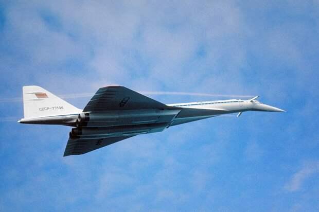 Сверхзвуковой пассажирский самолет Ту-144 Борис Корзин/ТАСС