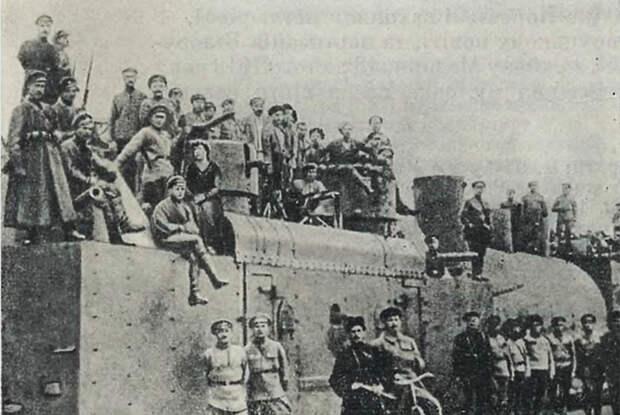 Красноармейский бронепоезд «Коммунист Коростеньского района», 1919 год