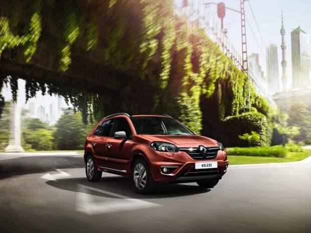 Renault назвал цену новой версии Koleos Sport Way