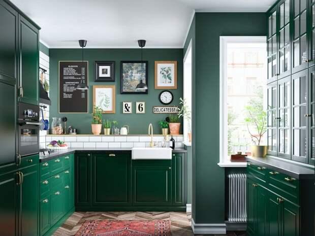 Уроки колористики: зеленый цвет