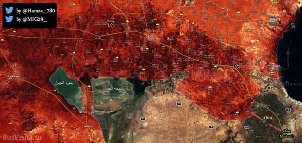Коллапс ИГИЛ: «Тигры» и ВКС РФ крушат оборону боевиков в Алеппо, приближаясь к Ракке (КАРТА) | Русская весна