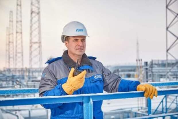 """""""Газпром"""" в январе-феврале нарастил добычу газа 7,8%"""