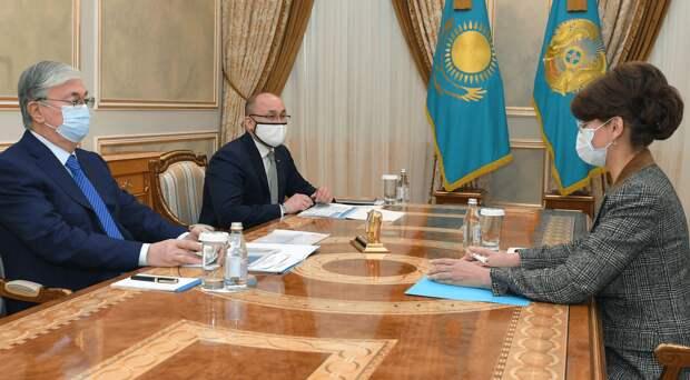 Токаев заслушал отчет Балаевой об информационной политике