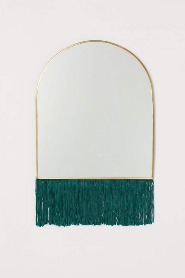 Зеркало с бахромой H&M