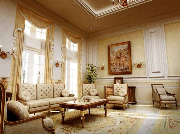 Проекты домов в классическом стиле (71 фото)