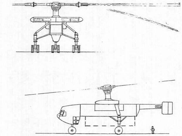 Проект тяжёлого вертолёта-крана Model-281, 1982 год - Нетрадиционная любовь Бруно Наглера | Warspot.ru