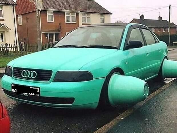 12 фото нелепого тюнинга автомобилей
