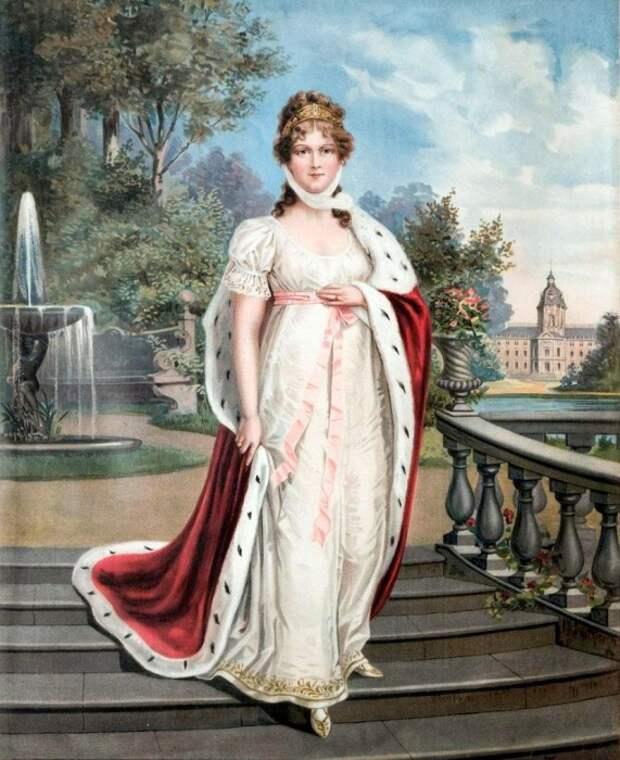 И борьбу, и переговоры по факту Наполеон вёл с Луизой, а не с её мужем.
