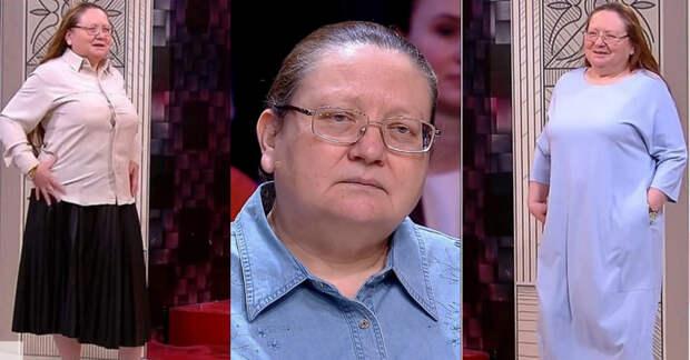 «Пришла за омоложением»: результат работы «Модного приговора» с 52-летней героиней