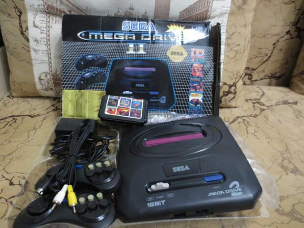 Ностальгические воспоминание по 16ти битной консоли Sega.
