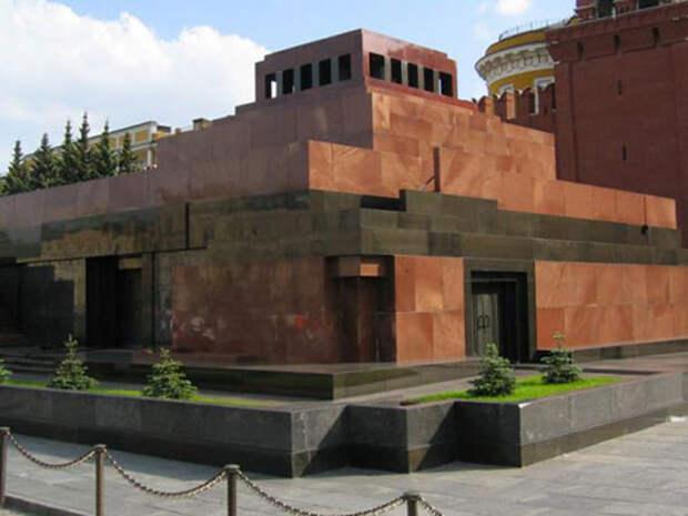 Мавзолей Ленина закроют в день 100-летия Октябрьской революции