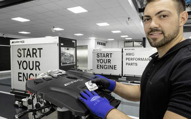 Турбированный двигатель Mercedes-AMG - новые подробности
