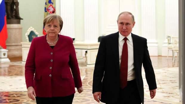 Журналист Борковски назвала «Северный поток — 2» прощальным подарком Меркель Путину