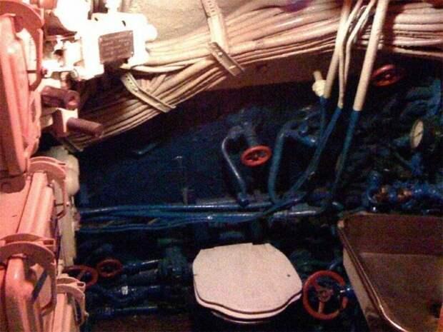 Туалет армия, подводные лодки, флот