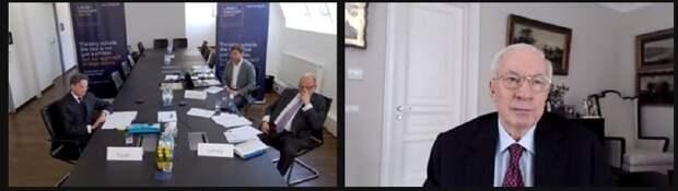 Азаров принял участие в пресс-конференции в Вене