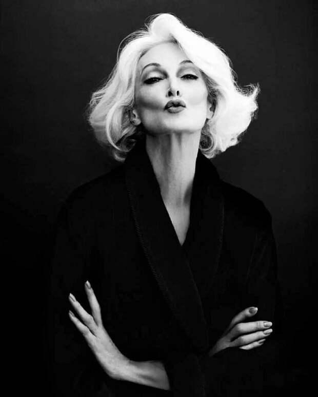 Красота, неподвластная времени: 85-летняя модель делится секретами долголетия!