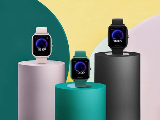Умные часы Amazfit Pop получили датчик ЧСС, пульсометр и водозащиту