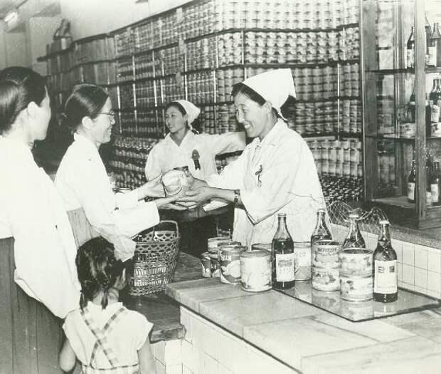 Магазин в Пхеньяне