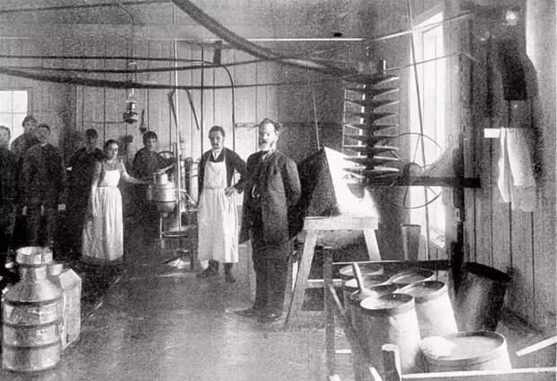 Маслодельня 19 века. /Фото: pbs.twimg.com