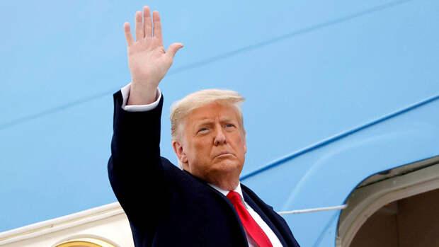 Трамп заявил о серьезном намерении баллотироваться на пост президента США