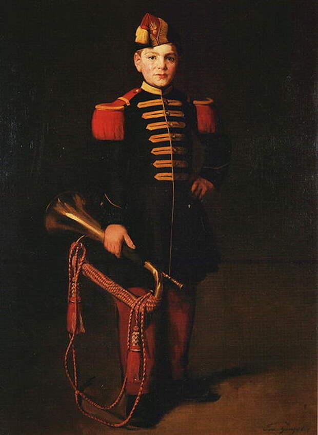 Файл:Eva Gonzales - Enfant de troupe.JPG