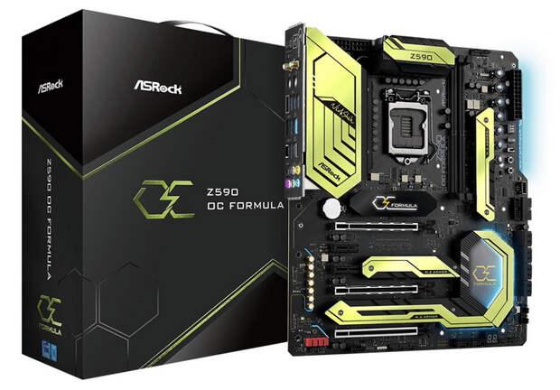 ASRock выпустила плату Z590 OC Formula для поклонников экстремального разгона