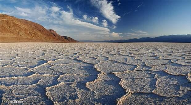 Долина смерти в пустыне Мохаве