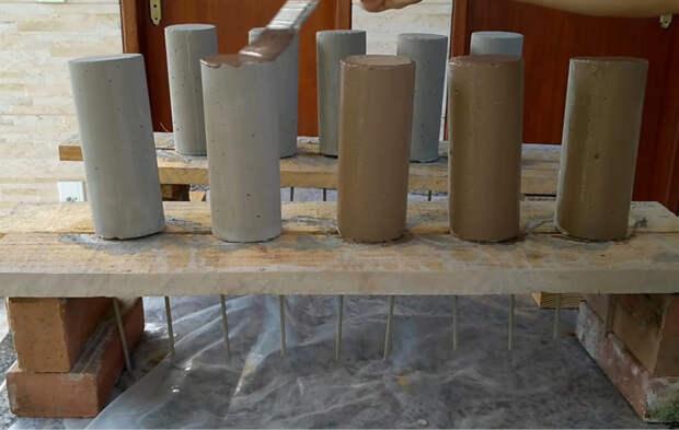 Крутое применение бетона для облагораживания вашего участка