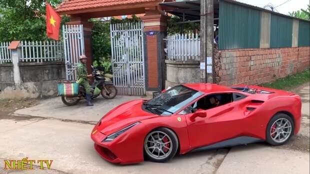 Ferrari 488 GTB по-вьетнамски