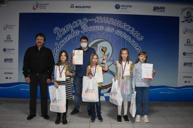 Крымская шахматистка выиграла медаль на первенстве России