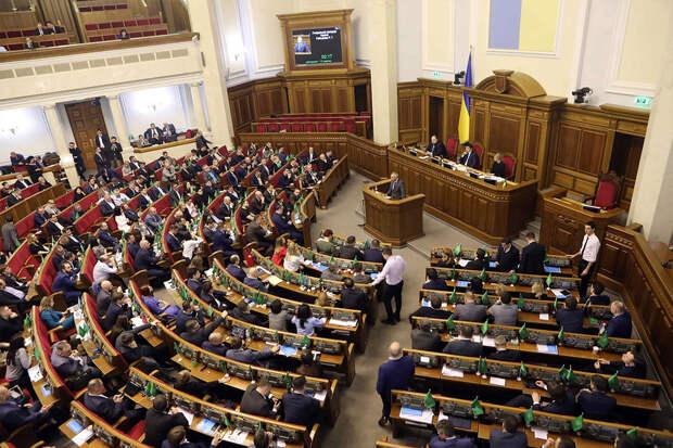 Партия Зеленского выступила за разрыв дипотношений с Москвой