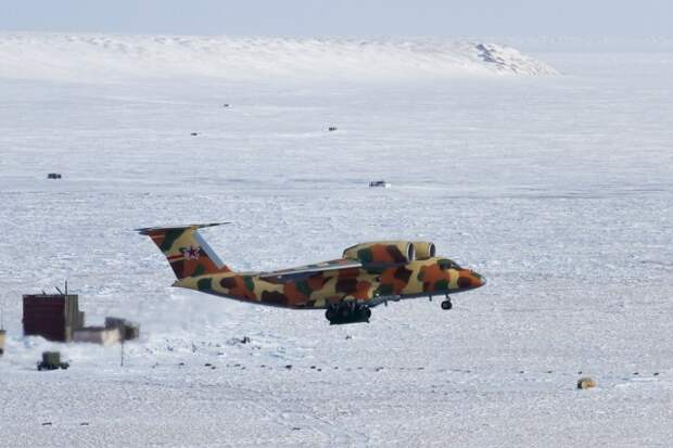 В Арктике