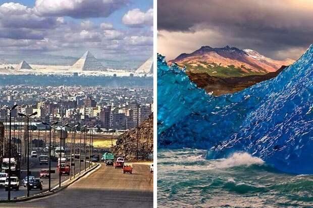 10+ поразительных снимков, показывающих нашу планету c неожиданной стороны
