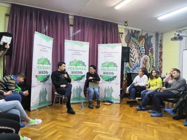 В гостях Центра Поддержки Семьи и Детства СЗАО побывал Азамат Мусагалиев