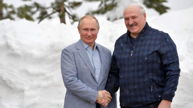 Путин и Лукашенко провели переговоры в Сочи - Газета.Ru