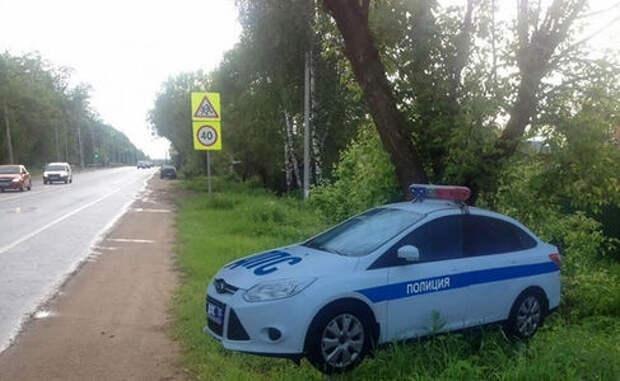 Власти Подмосковья пожаловались на кражи муляжей автомобилей ДПС