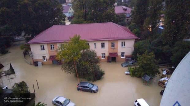На Кубани подтоплено более 2,3 тыс жилых домов — там живут более 5,3 тыс человек
