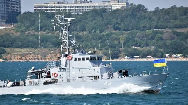Корабли Погранслужбы ФСБ РФ проследили за учениями ВСУ в Азовском море