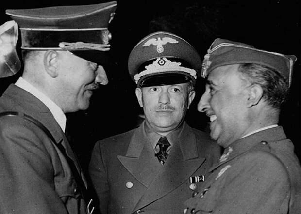 Почему диктатор Франко не стал воевать на стороне Гитлера