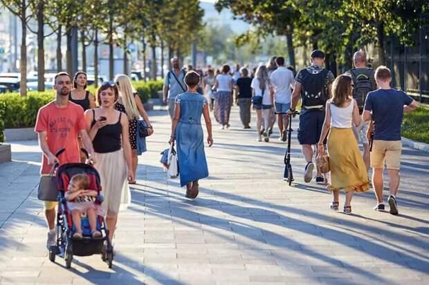 Оранжевый уровень опасности объявлен в Москве из-за жары