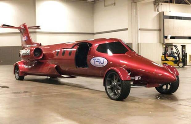 Лимузин-самолет: самое крутое в мире авто для свадьбы!