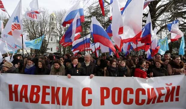 Россия реализовала все возможные демократические процедуры, присоединив Крым, а население полуострова продемонстрировало «потрясающий энтузиазм»,...